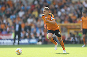 Wolverhampton Wanderers midfielder Dave Edwards breaks forward during the Sky Bet Championship match between Wolverhampton Wanderers and Brighton and Hove Albion at Molineux, Wolverhampton, England on 19 September 2015.