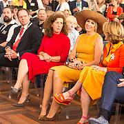 NLD/Amsterdam/20190702 - Maxima opent Codam College, Koningin Maxima