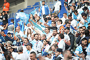 Marseille fans during the Europa League Final match between Olympique de Marseille and Atletico Madrid at Orange Velodrome, Marseille, France on 16 May 2018. Picture by Ahmad Morra.