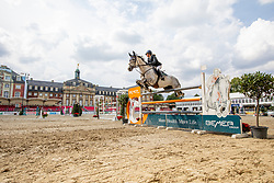 REINACHER Greta (GER), Claudius R<br /> Münster - Turnier der Sieger 2019<br /> Preis des EINRICHTUNGSHAUS OSTERMANN, WITTEN<br /> CSI4* - Int. Jumping competition  (1.45 m) - <br /> 1. Qualifikation Mittlere Tour<br /> Medium Tour<br /> 02. August 2019<br /> © www.sportfotos-lafrentz.de/Stefan Lafrentz