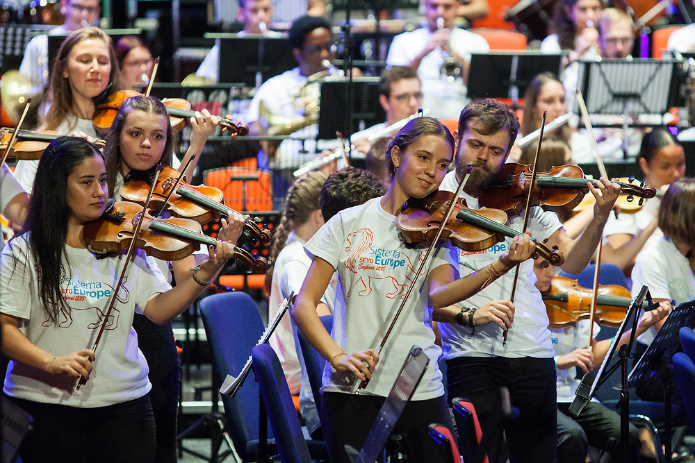 Uniting hundreds of talented young musicians and teachers from Sistema Europe's diverse network of programmes, SEYO is a European orchestra infused with the spirit of Venezuela's famed musical, social action initiative, El Sistema.<br />