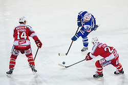 03.01.2015, Klagenfurter Wörthersee Stadion, Klagenfurt, AUT, EBEL, EC KAC vs EC VSV, 35. Runde, in picture Marco Pewal (EC VSV, #36) during the Erste Bank Icehockey League 35. Round between EC KAC and EC VSV at the Klagenfurter Wörthersee Stadion, Klagenfurt, Austria on 2015/01/03. Photo by Matic Klansek Velej / Sportida