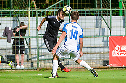 football match between ND Mura and ND Drava Ptuj in Round #29 of 2.SNL 2017/18 on May 19, 2018 in Mestni stadion Fazanerija , Murska Sobota , Slovenia. Photo by Mario Horvat / Sportida