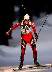 Tora Berger of Norway during the Women 15 km Individual of the e.on IBU Biathlon World Cup on Thursday, December 16, 2010 in Pokljuka, Slovenia. The fourth e.on IBU World Cup stage is taking place in Rudno Polje - Pokljuka, Slovenia until Sunday December 19, 2010.  (Photo By Vid Ponikvar / Sportida.com)