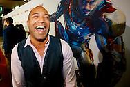AMSTERDAM - In het Rai theater is de filmpremiere van Iron Man 3. Met op de foto  Everon Jackson Hooi. FOTO LEVIN DEN BOER - PERSFOTO.NU