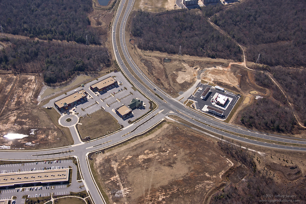 Baltimore Crossroads at 95 office park aerial photography by Jeffrey Sauers of Commercial Photographics