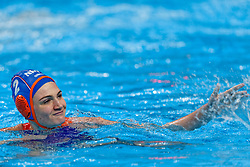 21-01-2020 HUN: European Water polo Championship, Budapest <br /> Slovakia - Netherlands 2—32 / Maud Megens #2of Netherlands during LEN European Aquatics Waterpolo on January 21, 2020. SVK vs Netherlands in Duna Arena in Budapest, Hungary