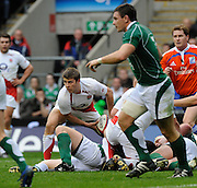 Twickenham. Great Britain, Six Nations Rugby, Englands, Richard WIGGLESWORTH, England vs Ireland,  Match played at the RFU Stadium, 15.03.2008   [Mandatory Credit. Peter Spurrier/Intersport Images]