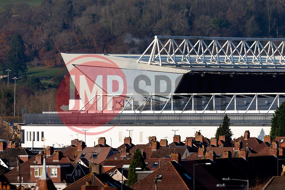 General View of Ashton Gate Stadium - Rogan/JMP - 29/11/2019 - Ashton Gate Stadium - Bristol, England.