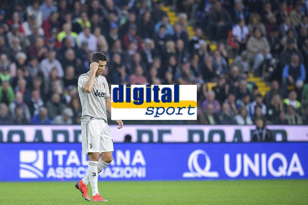 Cristiano Ronaldo<br /> Udine 06-10-2018 Stadio Friuli Football Calcio Serie A 2018/2019 Udinese - Juventus<br /> Foto Federico Tardito / OnePlusNine / Insidefoto