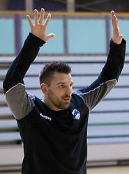 Primoz Prost during the Training Camp before IHF Men's Handball World Championship Spain 2013 on January 9, 2013 in Zrece, Slovenia. (Photo By Vid Ponikvar / Sportida.com)