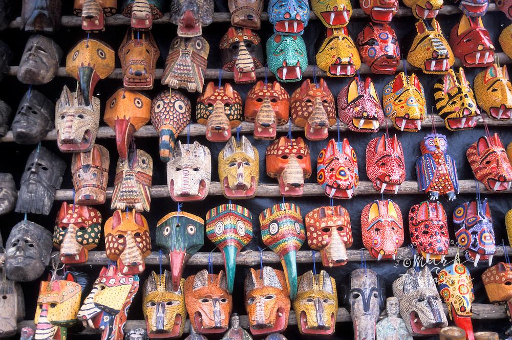 Masks, Chichicastenango, Guatemala