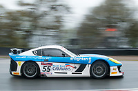 HC Motorsport #55 Ginetta G55 GT4 Stuart Middleton/William Tregurtha GT4 Silver during Friday testing for the British GT Championship as part of the BRDC British F3/GT Championship Meeting at Oulton Park, Little Budworth, Cheshire, United Kingdom. April 14 2017. World Copyright Peter Taylor/PSP. Copy of publication required for printed pictures.  Every used picture is fee-liable. http://archive.petertaylor-photographic.co.uk
