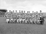 Kerry senior football team at All Ireland gaelic football final in Croke Park on 25th September 1955.