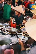 Central market in Hoi An, Vietnam