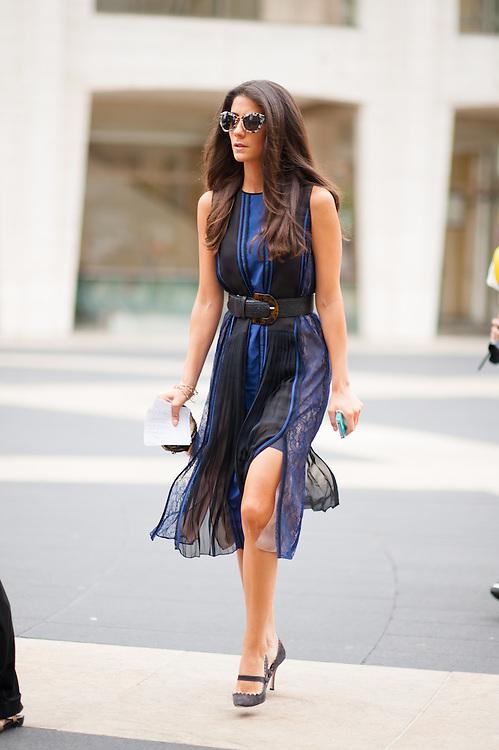 Black and Blue Dress, Outside BCBG