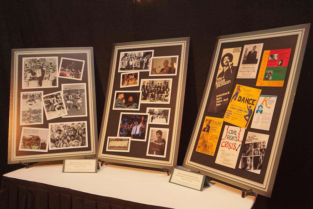 Pre- Gala Reception at the Black Alumni Reunion Gala in Baker Center on September 28, 2013.