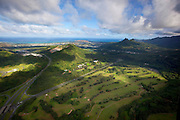 Pali Golf Course, Kaneohe, Oahu, Hawaii.