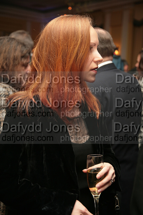 Atlante Kavaite, Opening Gala of Rendez-Vous with French Cinema. Screening of La Vie En Rose and party afterwards at Claridges. 29 March 2007. -DO NOT ARCHIVE-© Copyright Photograph by Dafydd Jones. 248 Clapham Rd. London SW9 0PZ. Tel 0207 820 0771. www.dafjones.com.