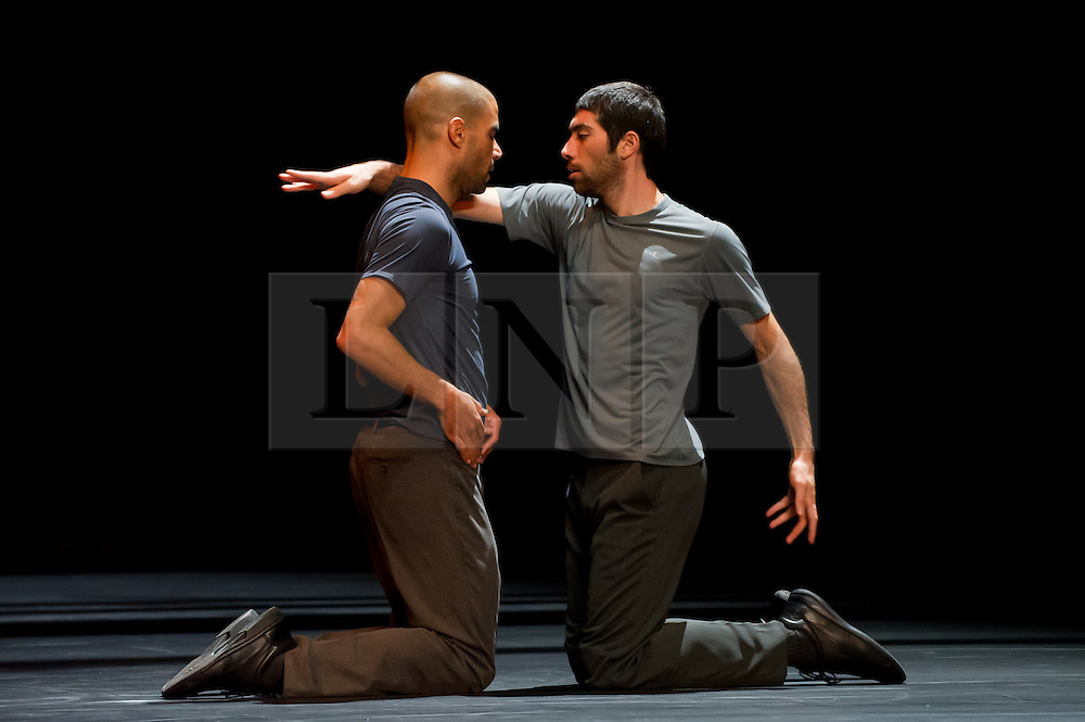 "© Copyright licensed to London News Pictures. 02/11/2010. Emanuel Gat & Roy Assaf. Emanuel Gat Dance, ""Winter Variations"", Sadler's Wells, London."