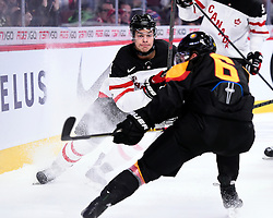 Madison Bowey of the Kelowna Rockets represented Team Canada at the 2015 World Junior Championships on Saturday Dec. 28 vs. Germany at the Bell Centre in Montreal. Canada won the game 4-0. Photo by Aaron Bell/CHL Images