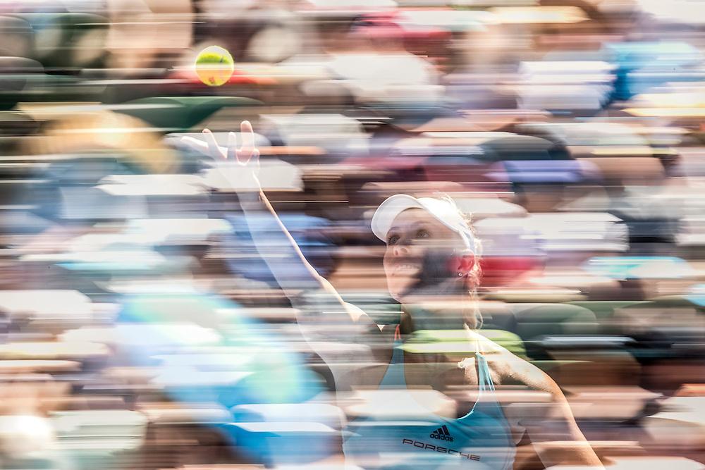 Angelique Kerber of Germany on day three of the 2017 Australian Open at Melbourne Park on January 18, 2017 in Melbourne, Australia.<br /> (Ben Solomon/Tennis Australia)