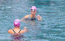 23.06.2017, Hotel Forsthofgut, Leogang, AUT, OeSV, Schwimmtraining Damen Speed Team, im Bild Mirjam Puchner (AUT) // during a swimmtraining of the Austrian Ladies Speed Team at the Hotel Forsthofgut, Leogang, Austria on 2017/06/23. EXPA Pictures © 2017, PhotoCredit: EXPA/ JFK