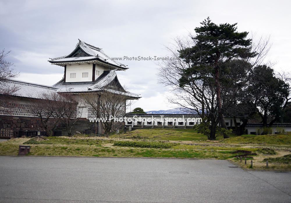 Japan, Ishikawa Prefecture, Kanazawa. Kanazawa Castle