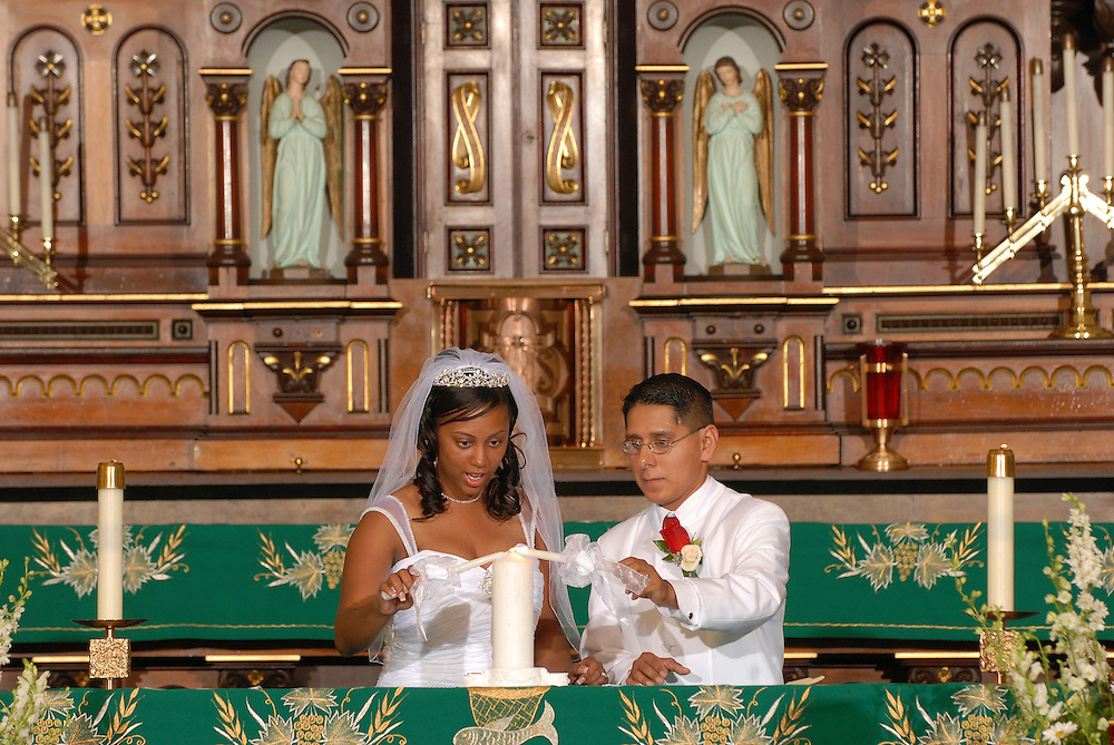 Calissa and Vincent Orosco wedding, 09/03/07