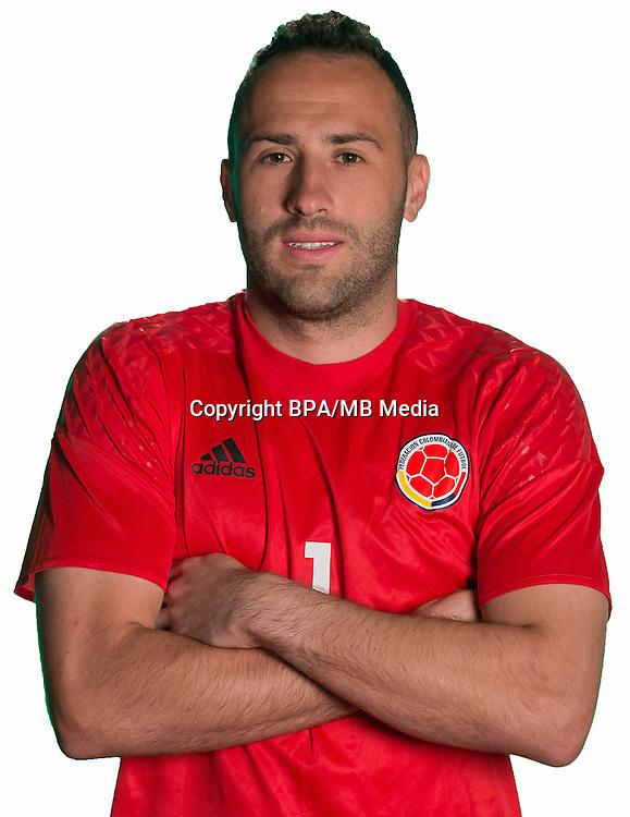 Football Conmebol_Concacaf - <br />Copa America Centenario Usa 2016 - <br />Colombia National Team - Group A - <br />David Ospina