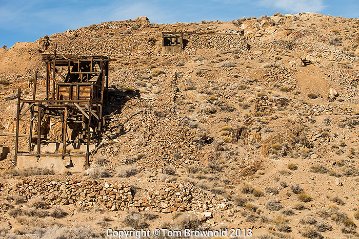 Eureka Mine in the Panamint Range.