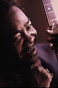 Texas blues, soul blues, electric blues artist Larry Davis.