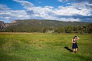 Phillip and Alyssa's beautiful outdoor wedding in Chama New Mexico.