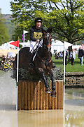 Andrew Downes riding Rocquaine Bay during the International Horse Trials at Chatsworth, Bakewell, United Kingdom on 13 May 2018. Picture by George Franks.