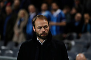 STOCKHOLM, SWEDEN - MARCH 12: Andreas Alm, head coach of BK Hacken during the Swedish Cup Quarterfinal between Djurgardens IF and BK Hacken at Tele2 Arena on March 12, 2018 in Stockholm, Sweden. Photo by Nils Petter Nilsson/Ombrello<br /> ***BETALBILD***