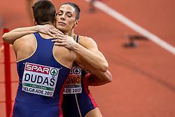 05-02-2017  SRB: European Athletics Championships indoor day 3, Belgrade<br /> Ivan Spanovice pakt het goud