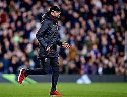 LONDON, ENGLAND - Sunday, March 17, 2019: Liverpool's manager Jürgen Klopp during the FA Premier League match between Fulham FC and Liverpool FC at Craven Cottage. (Pic by David Rawcliffe/Propaganda)