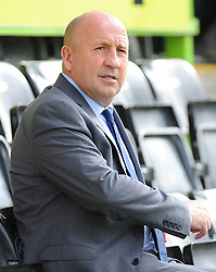 Accrington Stanley manager John Coleman looks on  - Mandatory by-line: Nizaam Jones/JMP- 30/09/2017 - FOOTBALL - New Lawn Stadium - Nailsworth, England - Forest Green Rovers v Accrington Stanley - Sky Bet League Two