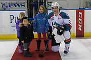 KELOWNA, CANADA - MARCH 07:  First Star of the game James Hilsendager #2 of the Kelowna Rockets at the Kelowna Rockets game on March 07, 2017 at Prospera Place in Kelowna, British Columbia, Canada.  (Photo By Cindy Rogers/Nyasa Photography,  *** Local Caption ***