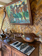 Grelet Museum, Omoa, Fatu Hiva, Marquesas, French Polynesia, South Pacific