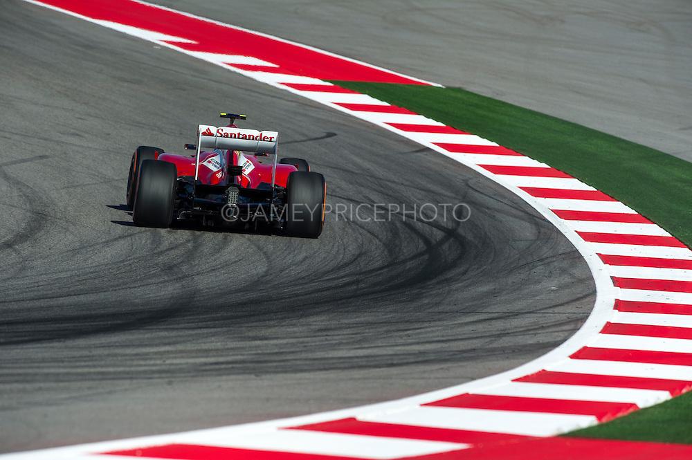November 15- 17, 2013. Austin, Texas. United States Grand Prix 2013: Felipe Massa, Scuderia Ferrari