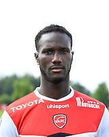 Benjamin ANGOUA - 18.09.2013 - Presentation Officielle des Equipes de Ligue 1<br /> Photo : Fred Porcu / Icon Sport