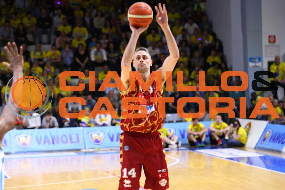 Cremona 08.05.2016<br /> Basket Serie A - Playoff Gara 1<br /> Vanoli Cremona - Umana Venezia<br /> <br /> Nella foto: Tomas Ress
