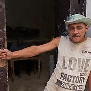 A local man on the streets of Havana, Cuba.