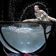 15.01.2016 Cirque Du Soleil performing AMALUNA at The Royal Albert Hall London UK  Water Bowl Miranda Julia Mykhailova