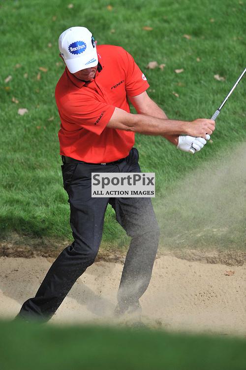 Scott Hend Australia,  British Masters, European Tour, Woburn Golf Course Friday 9th October 2015.