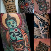 Tattoos  as Ethnic Religious Body Art