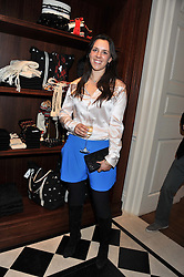 LEONORA DE FERRANTI at a party hosted by TLC to celebrate signing their 5000th member and Ralph Lauren to celebrate the opening of the first Ralph Lauren Rugby store in the UK at 43 King Street, Covent Garden, London on 30th November 2011.