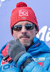 16.03.2018, Vikersundbakken, Vikersund, NOR, FIS Weltcup Ski Sprung, Raw Air, Vikersund, Finale, im Bild Cheftrainer Alexander Stoeckl (NOR) // Austrian Headcoach Alexander Stoeckl of Norway during the 4th Stage of the Raw Air Series of FIS Ski Jumping World Cup at the Vikersundbakken in Vikersund, Norway on 2018/03/16. EXPA Pictures © 2018, PhotoCredit: EXPA/ JFK