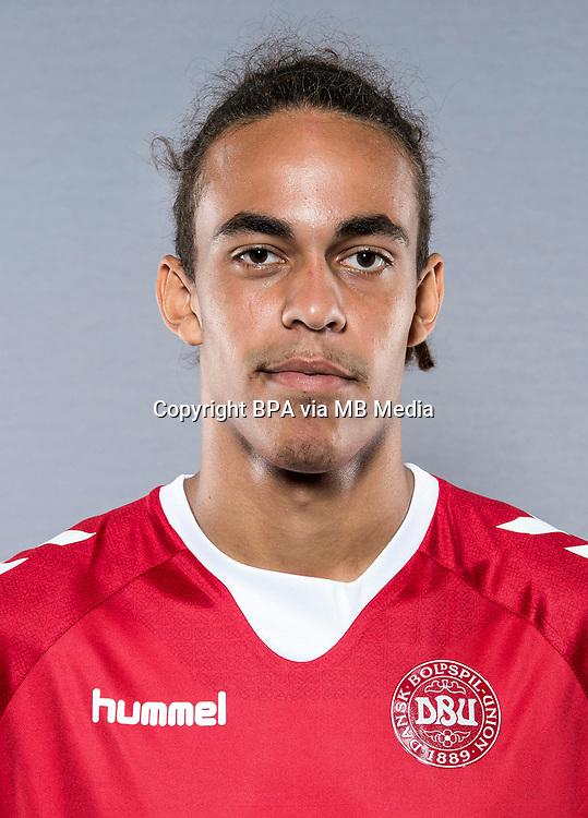 Uefa - World Cup Fifa Russia 2018 Qualifyer / <br /> Denmark National Team - Preview Set - <br /> Yussuf Yurary Poulsen